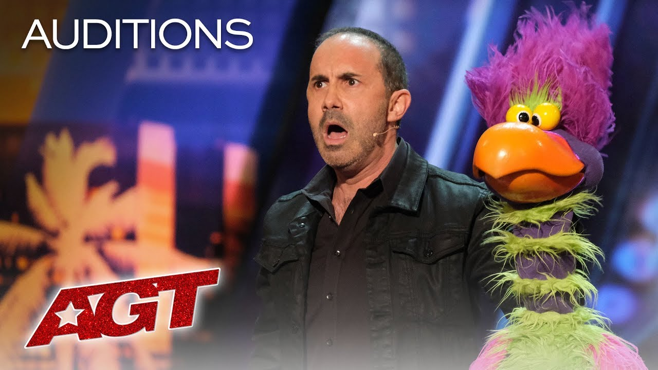 Download Michael Paul And His Hilarious Bird Of Prey Earn A YES! - America's Got Talent 2019