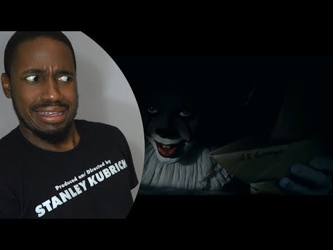 IT - Official Trailer 1 REACTION