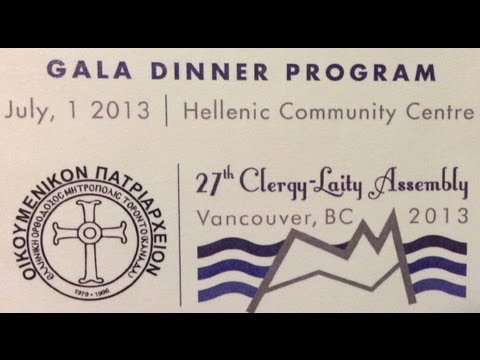 27th Clergy Laity, Vancouver, BC, Canada