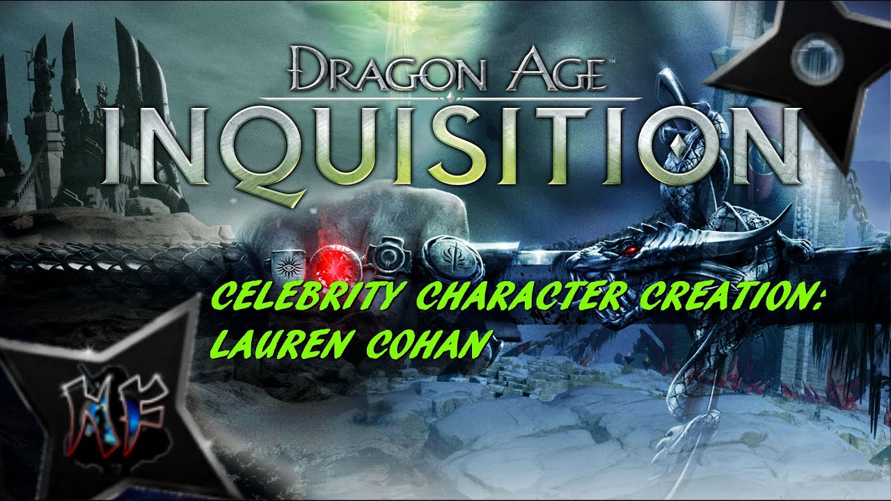 Dragon age character creation celebrity