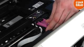 Hoe vervang ik de cartridges van mijn HP Envy 5530?