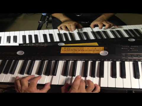 PIANO LESSON Learn To Use Both Hands Playing The Piano - Hand Independence
