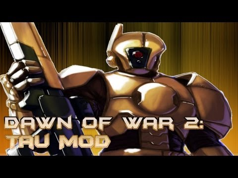 Dawn Of War 2: Tau Race Skirmish Match
