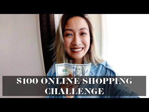 $100 Online Shopping Challenge | Laureen Uy