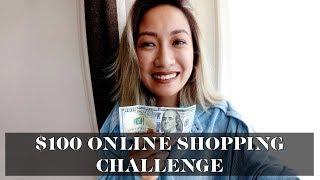 $100 Online Shopping Challenge | Laureen Uy