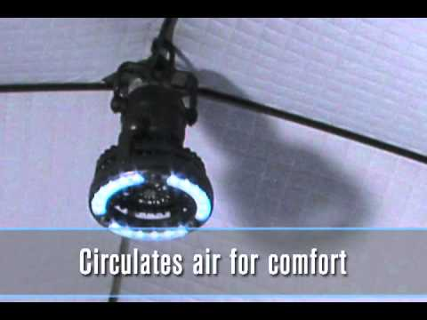 clam ice fishing lights/fans.mov - youtube, Reel Combo
