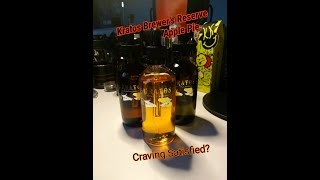 Kratos Brewer's Reserve : Apple Pie Review!