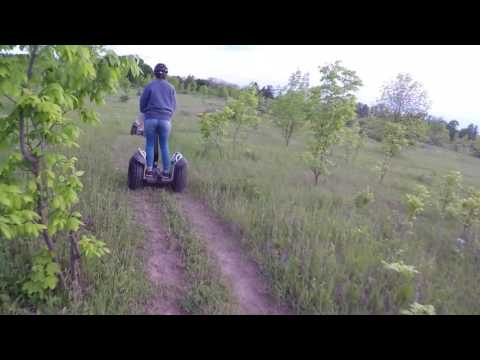 Off Road Segway Tour Door County Wisconsin