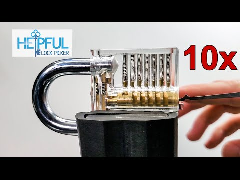 [318] What Lock Picking Looks Like In Slow Motion