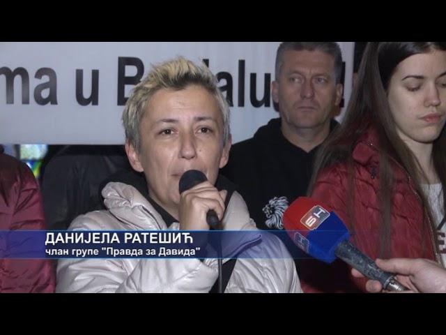 Banja Luka- Pravda za Davida 234. dan 14 11 2018