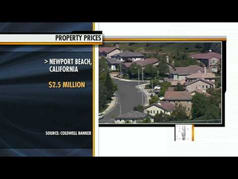 Report: Property prices $2.5M in Newport, Calif.