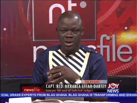 7 High Court Judges Suspended - Newsfile on Joy News (10-10-15)