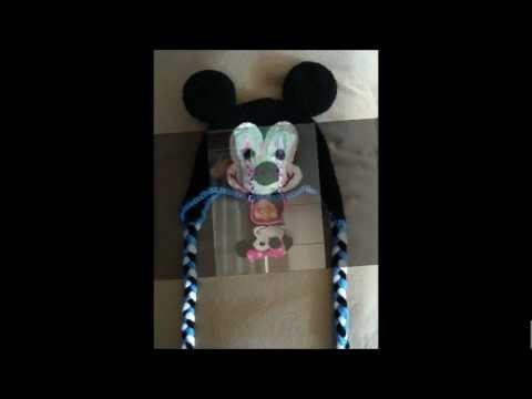 Minnie Mouse Or Mickey Mouse Crochet Pattern For Baby Kids And