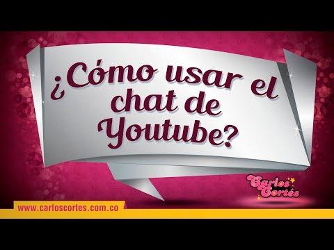 ¿Cómo Usar El Chat De YouTube?