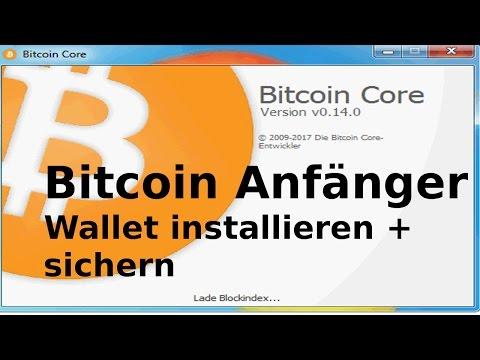 Bitcoin für Anfänger * Bitcoin Wallet installieren + sichern