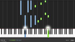 "Piano tutorial ""Total recall"" (HD) + MIDI"