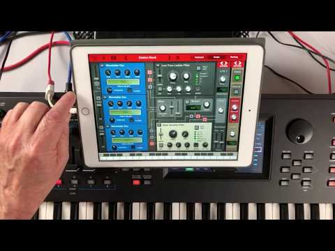 THOR Polysonic Synthesizer - Let's Play - IPad Live