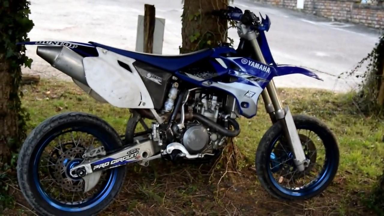 Yamaha 450 Yzf Supermotard    Un Monstre