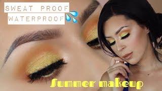 Summer sweat proof water proof makeup l violet voss flamingo palette