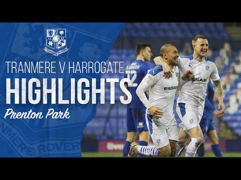 Tranmere Harrogate Goals And Highlights