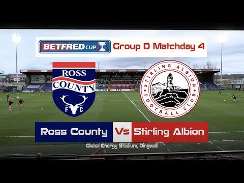 Ross County Stirling Goals And Highlights