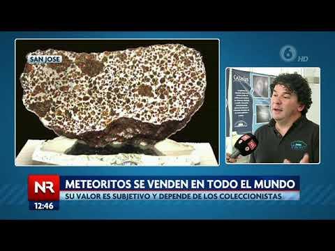 Familia de San Carlos ya reciben ofertas por meteorito