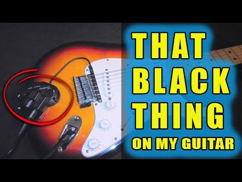 That Black Thing on My Guitar