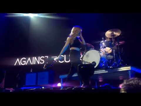 Against the Current - Strangers Again LIVE @ Manchester Arena