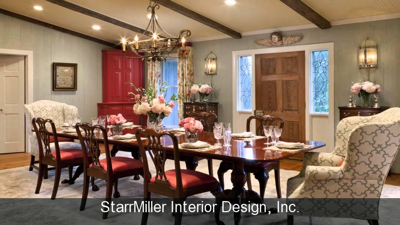 Starr Miller Interior Design Charlotte Lake Norman NC
