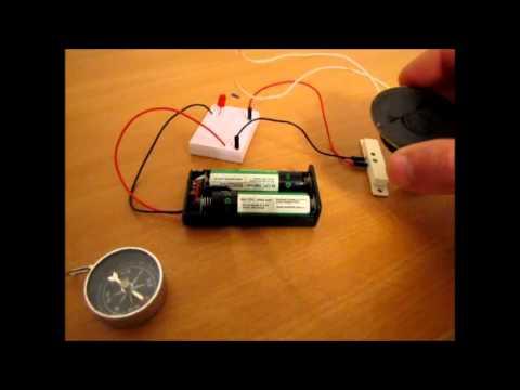 & Home Alarm Magnetic Door Switch - YouTube pezcame.com