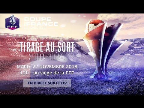 Le tirage au sort du 2e tour fédéral en replay, Coupe de France Féminine I FFF 2018-2019
