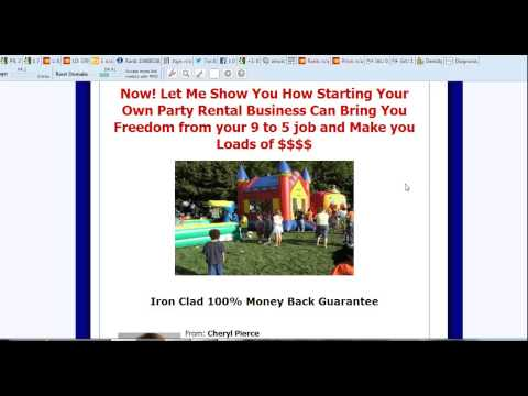 Starting a Bounce House Rental Business