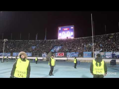 Зенит — Ливерпуль. Фанаты Зенита. 14.02.2013