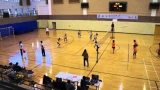2011-2012 澳門學界-排球-女子B組-決賽輪-培正中學VS永援中學-2011年12月3日