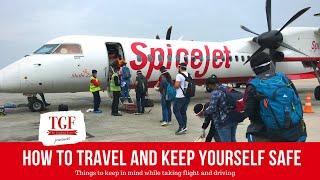 COVID 19 Travel Advice Tips for Flying Tips for Driving Coronavirus Travel Safe