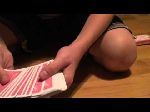 opposite card trick (Criss Angel card trick) REVEALED