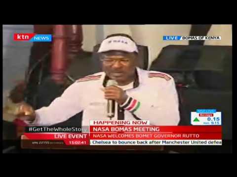 Moses Wetangula's full speech as NASA welcomes Isaac Ruto