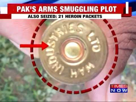 21 Packets of Heroin & Pistol Smuggled from Pakistan Seized by BSF