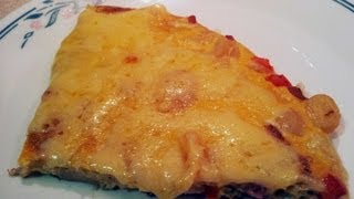 How To Make A Quick And Easy Ham And Potato Frittata