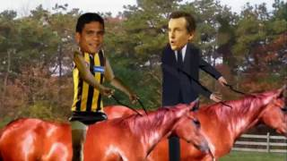 Bruce McAvaney fantasizes about Cyril Rioli Top 10 Video