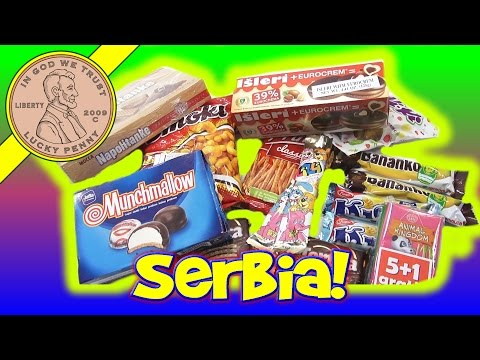 Try Treats Candy & Snacks Monthly Subscription Box From Serbia & Croatia International Snack Tasting