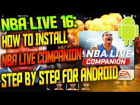 NBA Live 16 - NBA Live Companion How To Download/Install Tutorial (Android Only)
