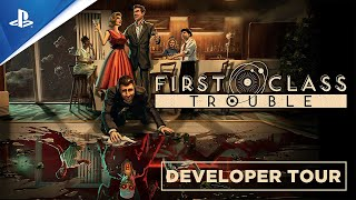 First Class Trouble - State of Play Oct 2021: A Guided Tour to Social Deduction | PS5, PS4