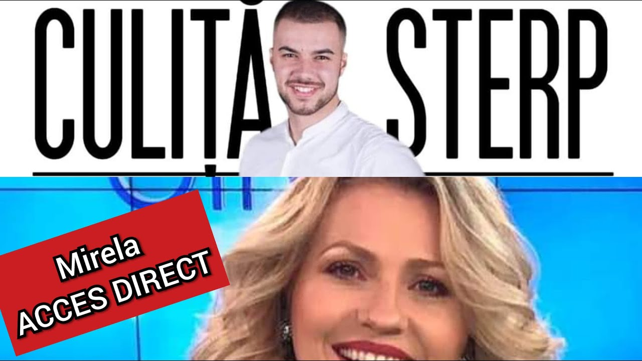 Mirela de la Acces Direct si Culita Sterp s-au certat în Direct