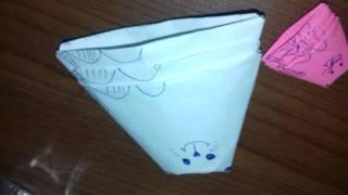 Как сделать кошку матрешки из бумаги
