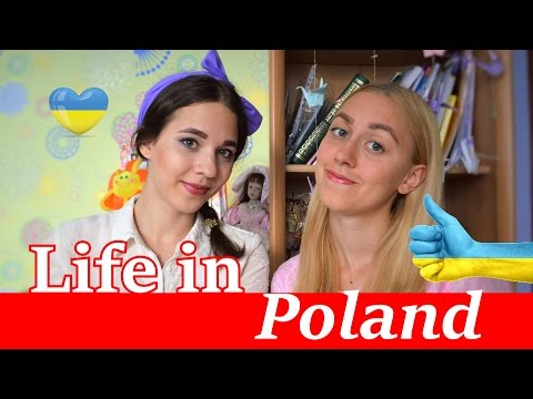 LIFE IN POLAND FOR UKRAINIAN GIRL/ Życie w Polsce dla ukraińskiej dziewczyny
