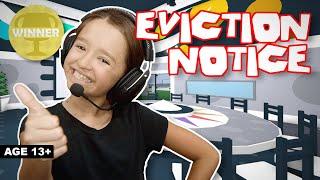Roblox Eviction Notice - I WON!!