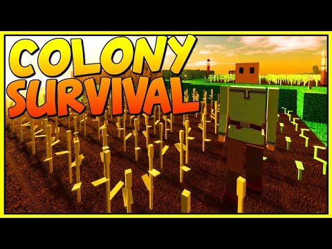 AMAZING SCIENCE & ORE PROCESSING - Let's Play Colony Survival Gameplay