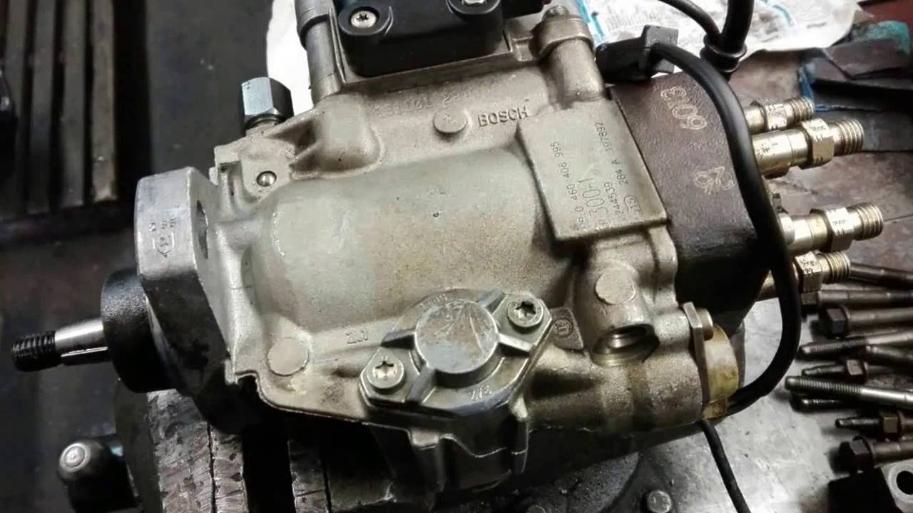 Bmw E34 Diesel Injection Pump Repair Youtube