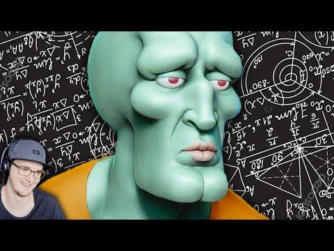 Спанч Боб - Почему Сквидвард лучший персонаж в истории кино? ► MysteryForce Губка Боб   Реакция